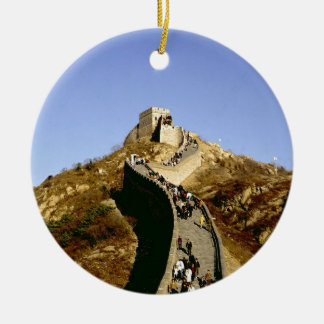 Great Wall of China Ceramic Ornament