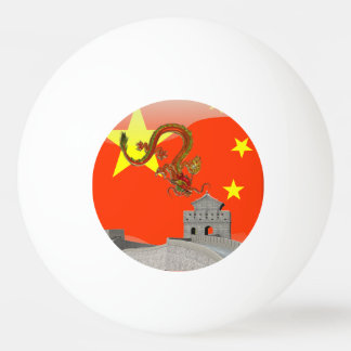 Great Wall of China Ping Pong Ball