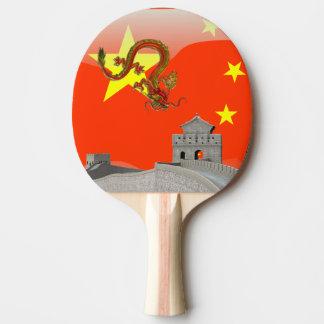 Great Wall of China Ping Pong Paddle