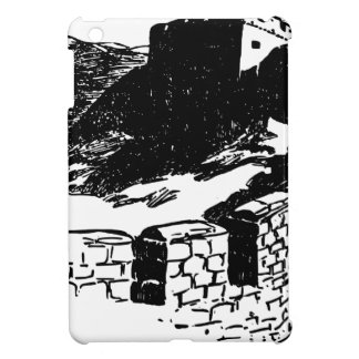 Great Wall of China Sketch iPad Mini Cases