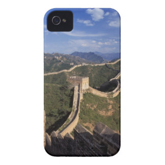 Great Wall winding through the mountain, iPhone 4 Covers