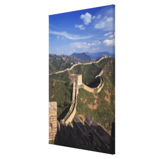 Great Wall winding through the mountain, Stretched Canvas Prints