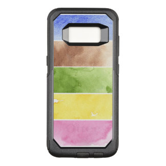 great watercolor background - watercolor paints OtterBox commuter samsung galaxy s8 case