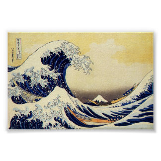 Great Wave of Hokusawa Poster