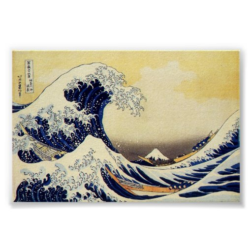 Great Wave of Hokusawa Posters