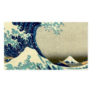 Great Wave Off Kanagawa Business Card Templates