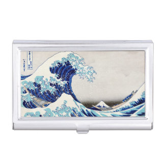 Great Wave off Kanagawa - Business Card Holder