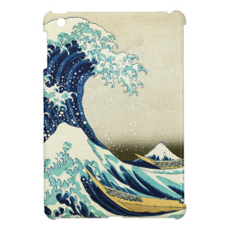 Great Wave off Kanagawa Cover For The iPad Mini