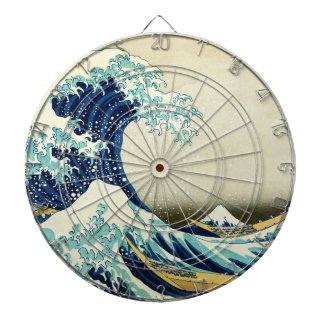 Great Wave off Kanagawa Dartboard