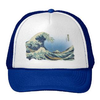 Great Wave off Kanagawa Mesh Hat