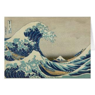 Great Wave off Kanagawa - Hokusai Card