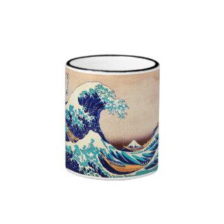 Great Wave Off Kanagawa Hokusai Japanese Vintage Coffee Mug
