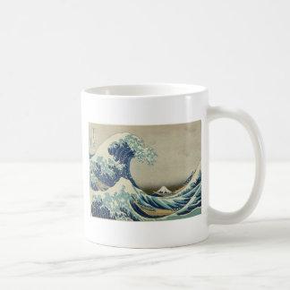 Great Wave off Kanagawa - Hokusai Mugs