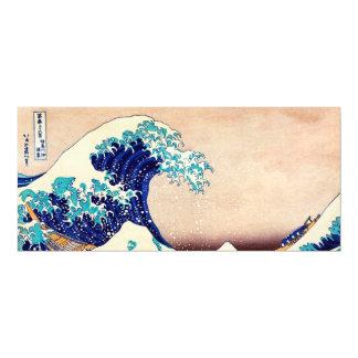 Great Wave Off Kanagawa Japanese Vintage Fine Art Magnetic Invitations