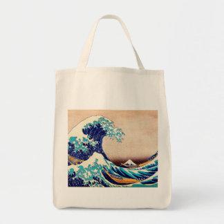 Great Wave Off Kanagawa Japanese Vintage Fine Art Tote Bag