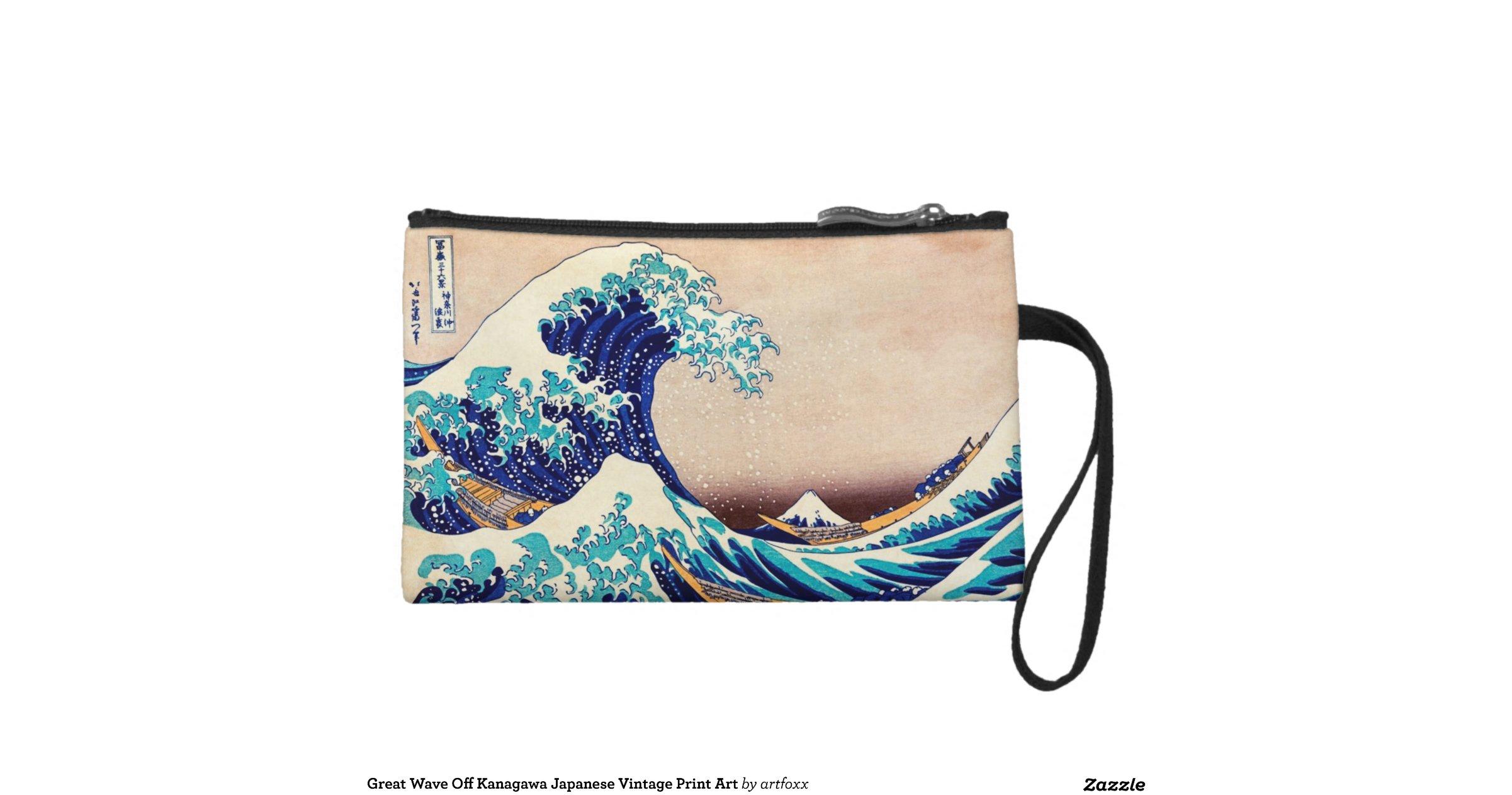Great Wave Off Kanagawa Japanese Vintage Print Art ...