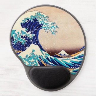 Great Wave Off Kanagawa Japanese Vintage Print Art Gel Mouse Pad