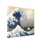 Great Wave off Kanagawa Oriental Fine Art Stretched Canvas Print