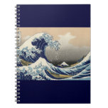 Great Wave off Kanagawa Oriental Fine Art Notebook