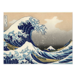Great Wave off Kanagawa Oriental Fine Art Photo Print