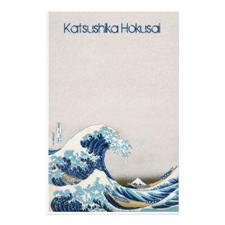 Great Wave off Kanagawa Personalized Stationery
