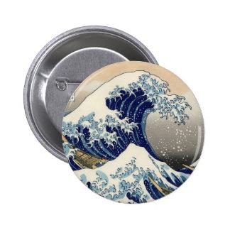 Great Wave off Kanagawa Pins