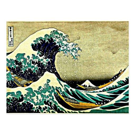 Great Wave off Kanagawa Post Cards