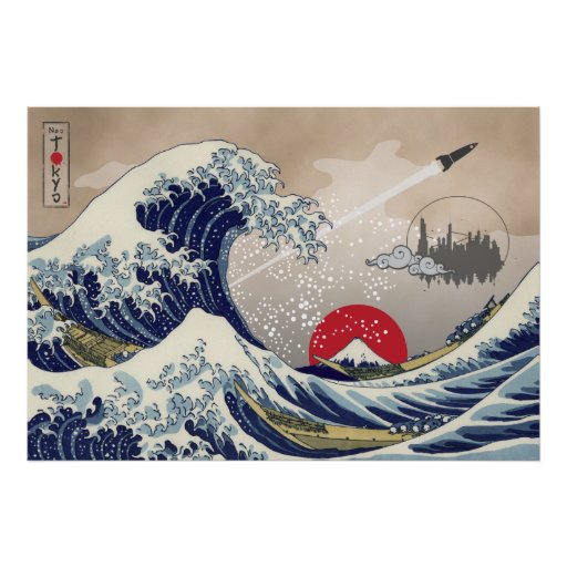 Great Wave Posters