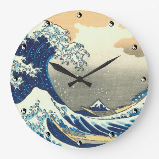 Great Wave Wall Clock in 3 sizes