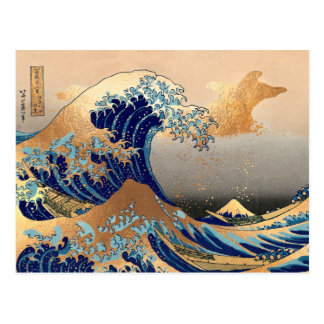 Great Waves at Kanagawa Postcard