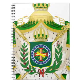 Great Weapons of the Empire of Brazil Spiral Notebook