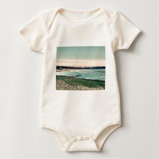 Great Western Beach Newquay Baby Bodysuit