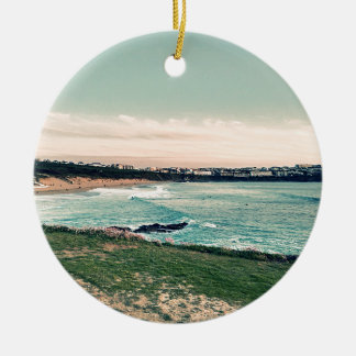 Great Western Beach Newquay Ceramic Ornament