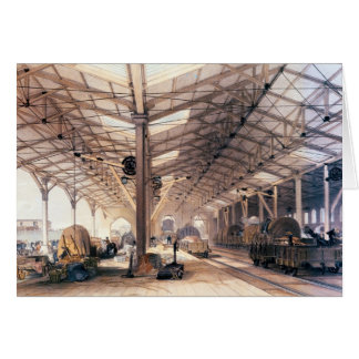 Great Western Railway: Freight shed at Bristol Card