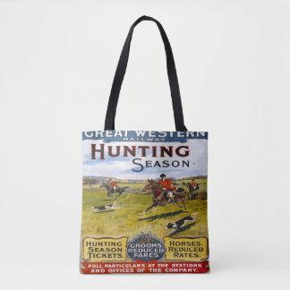 Great Western Railway Hunting Season Tote Bag