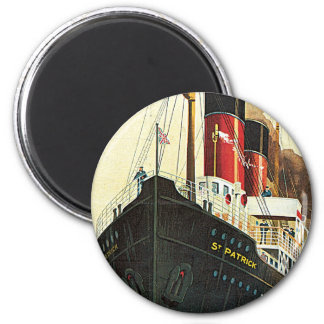 Great Western Railway - To Ireland 6 Cm Round Magnet