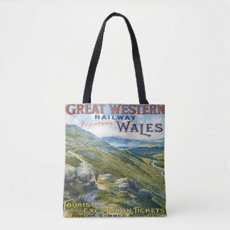 Great Western Railway Travel Vintage tote bag