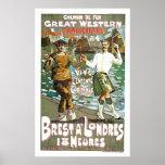 Great Western Railway Vintage Travel Art