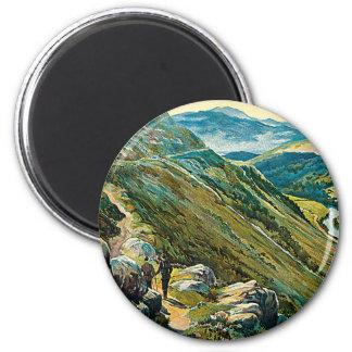 Great Western Railway ~ Wales 6 Cm Round Magnet