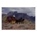 Great Western Trail Stagecoach Poster