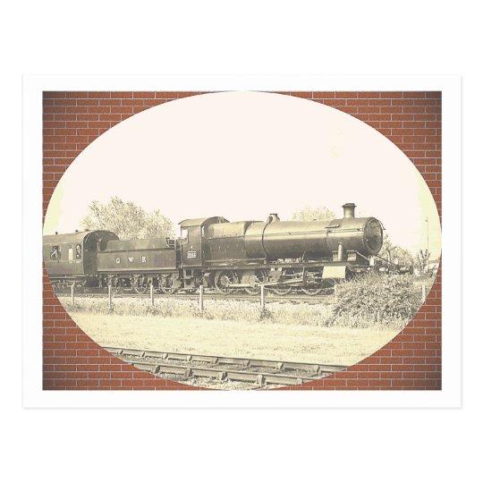 Great Western Train Postcard
