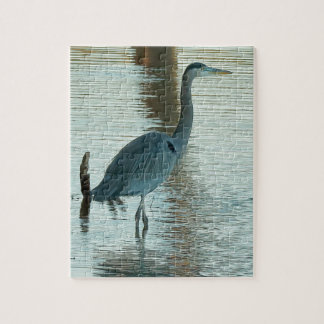 Great White Heron Jigsaw Puzzle