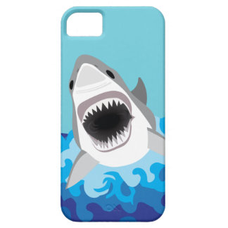 Great White Shark With Jaws Showing iPhone 5 Cover