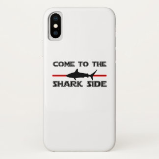 Great White Sharks  Come to the Sharks Funny iPhone X Case