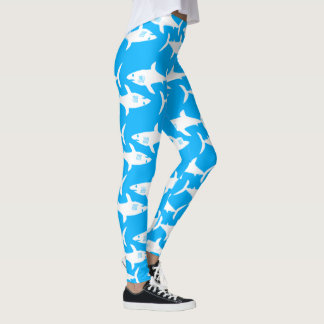 Great White Sharks Leggings