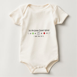 GreatDane Baby Bodysuit