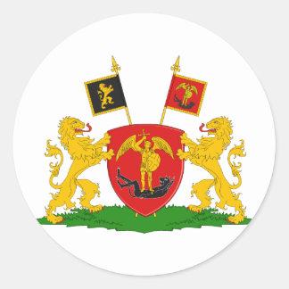 Greater Brussels, Belgium Classic Round Sticker