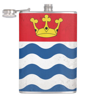 Greater London Hip Flask