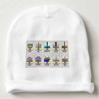 Greater Manchester Baby Beanie