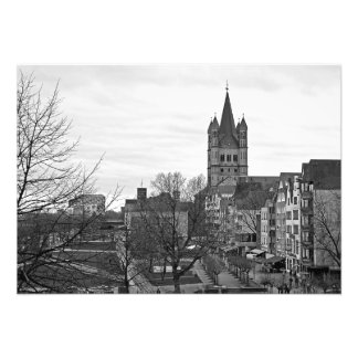 Greater Saint Martin in Cologne Photo Print